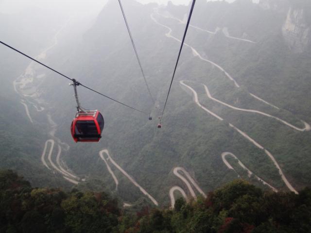 Самая длинная в мире канатная дорога в